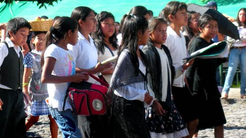 Guatemalan students